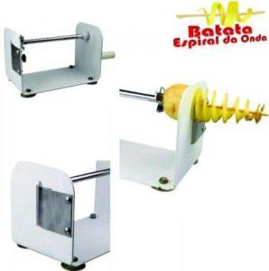 máquina batata espiral