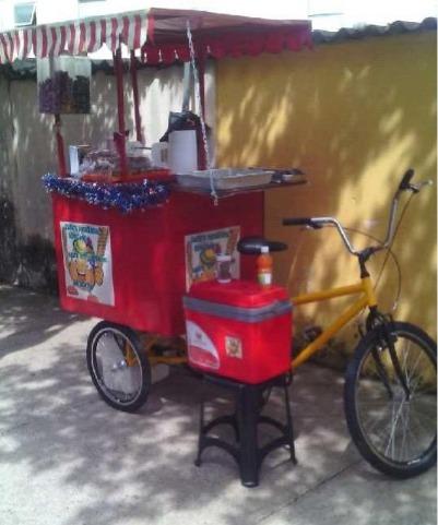 food bike batata espiral